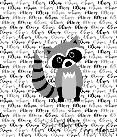 Brush Panel - Raccoon