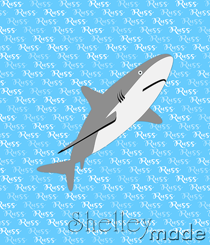 Brush Panel - Shark