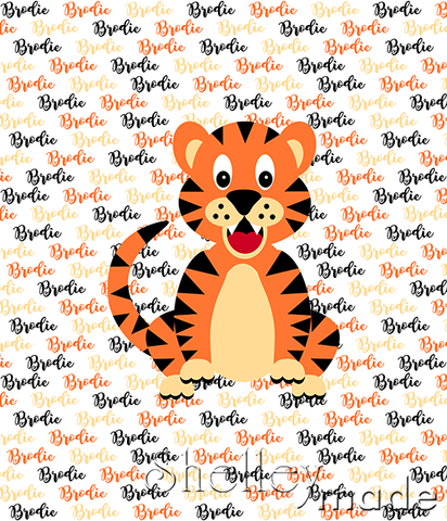 Brush Panel - Tiger