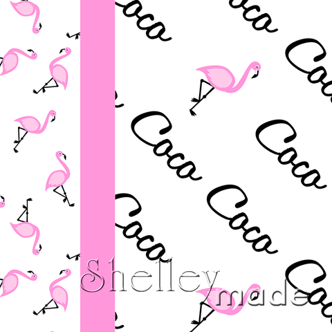Diagonal Image Pillowcase Panel - Script