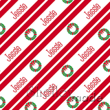 Christmas Stripe - Slender