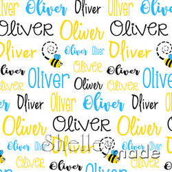 Typographic Image - Bee