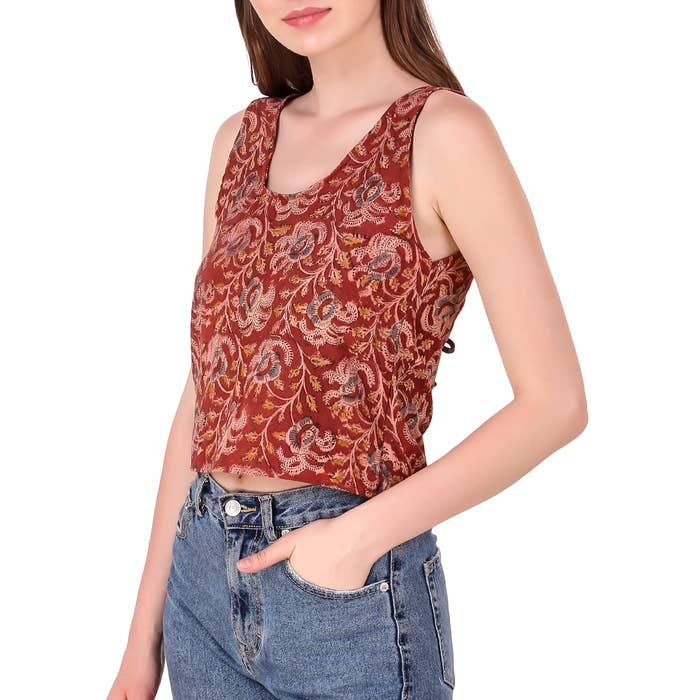 Lala Crop Top - The Jaya House