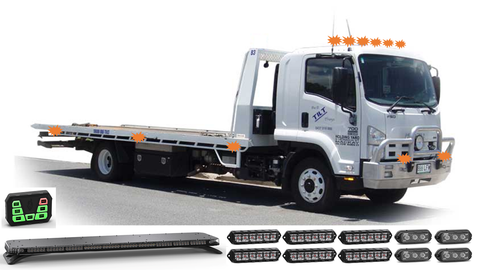 Feniex Industries Tow Truck Pack - Emergency ONE Lighting