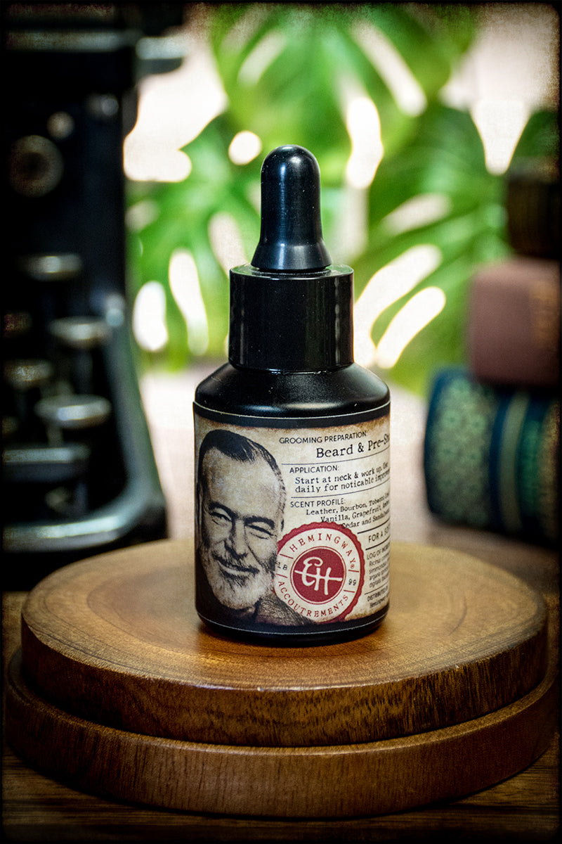 Beard & PreShave Grooming Oil