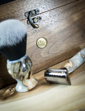 #1 of 12 - Ernest Hemingway Collector's Edition Razor and Brush Shave Set