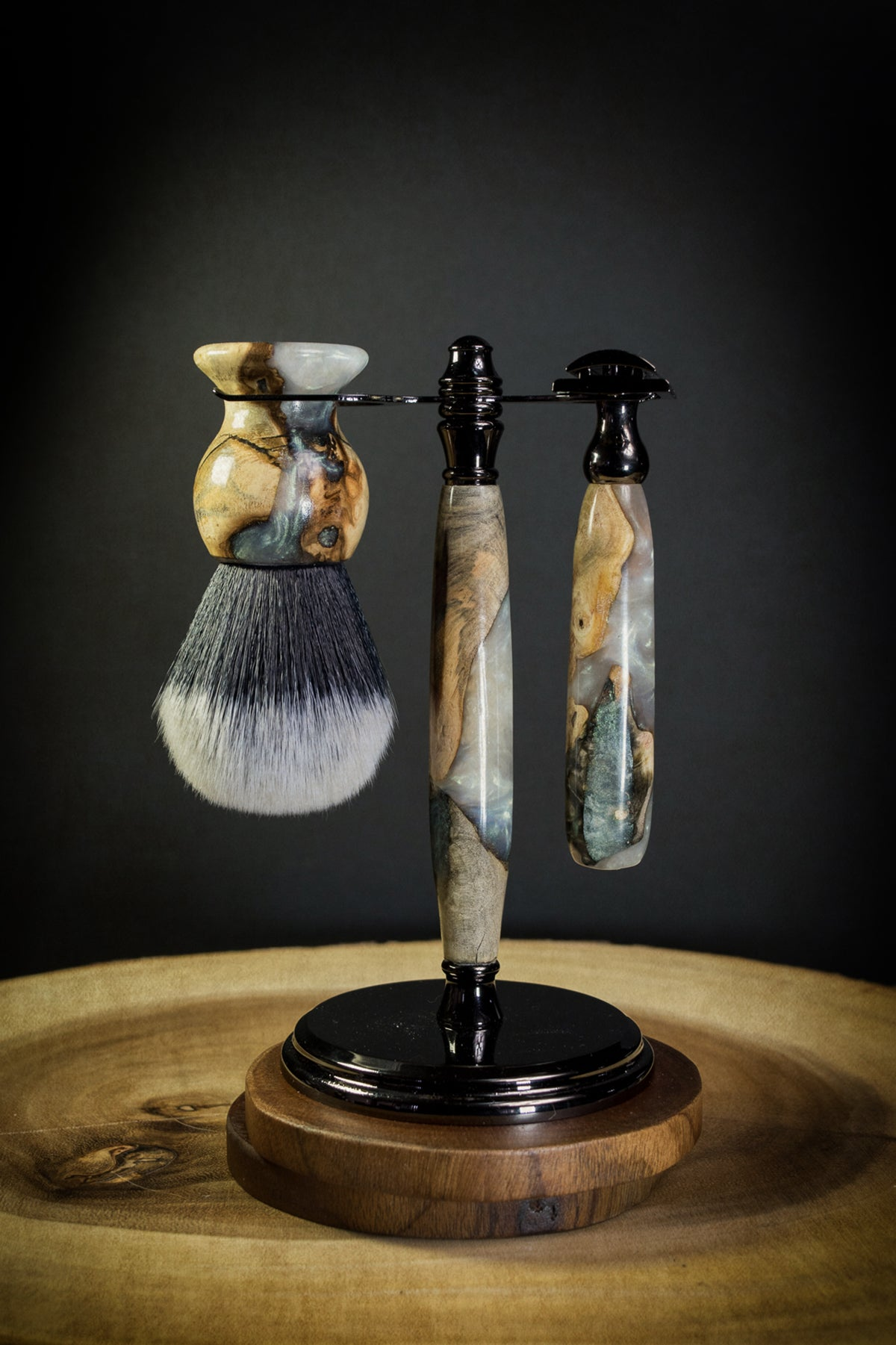 Ernest Hemingway Artisan Series Razor and Brush Shave Set