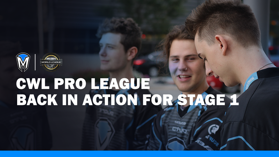 CWL Pro League Back in Action for Stage 1