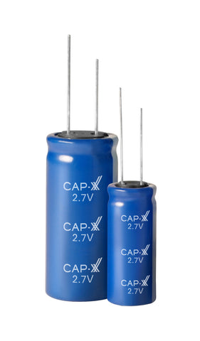 CAP-XX Single Cell Cylindrical Supercapacitor - GY12R718060M107R