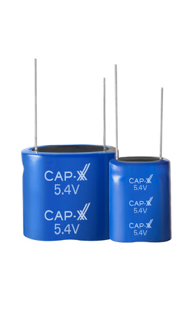 CAP-XX Dual Cell Cylindrical Supercapacitor -  GY25R40822S155RR