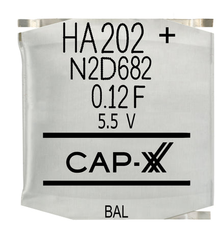CAP-XX Dual Cell Supercapacitor - HA202F