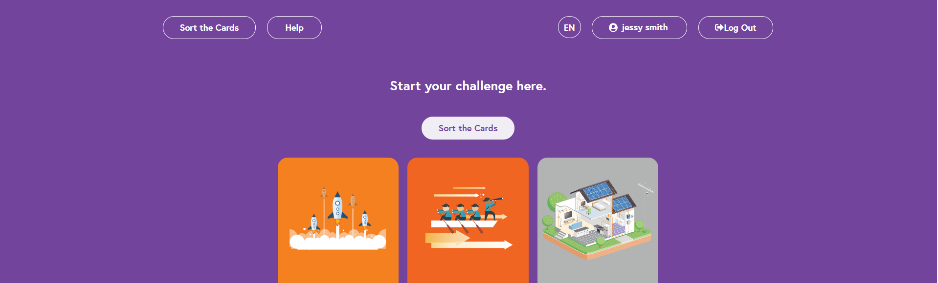Try Out the Improved Look and Feel of the Digital Challenge Cards