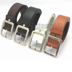 hot sale 2017 Marcas Cintos Famous Brand Luxury Belt Men Cowboy Male Waist Strap Leather Alloy Buckle Long Strap Free Shipping