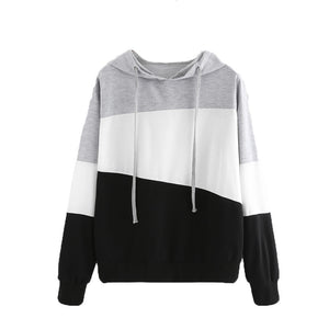 Womens  Long Sleeve Hoodie Jumper Hooded Pullover Tops Blouse