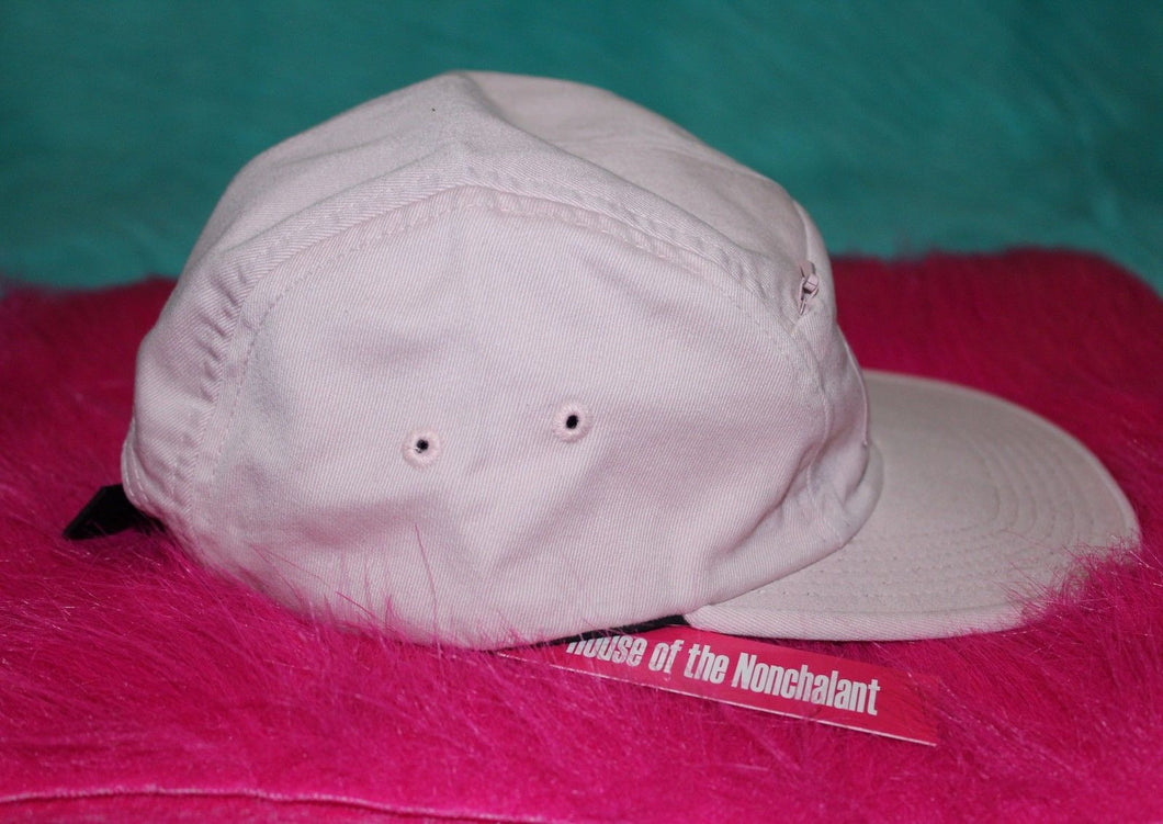 ad1bb0e56c3 2017 S S Supreme Front Panel Zip Camp Cap pink – house of the nonchalant