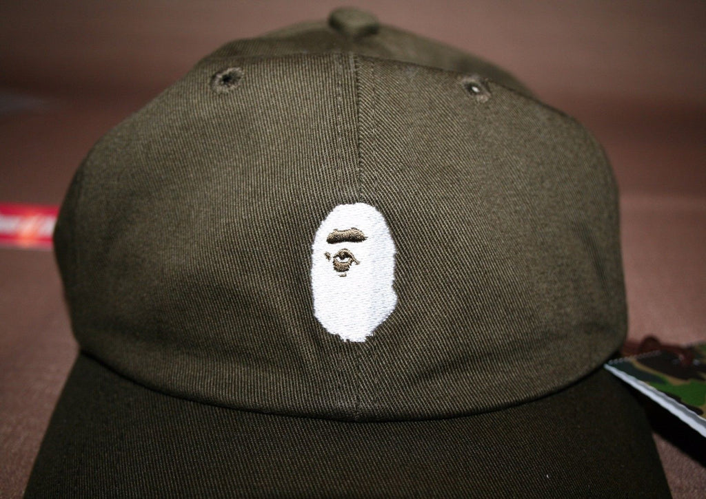 cc3ec1f24b2 2016 SS A Bathing Ape Men s Ape Cap Olive Bape – house of the nonchalant