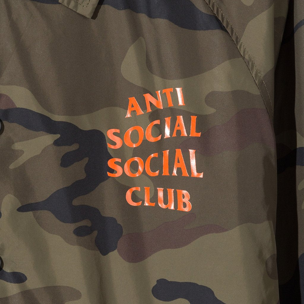 db9364c227a9 2017 Anti Social Social Club Camo Coach Jacket – house of the nonchalant