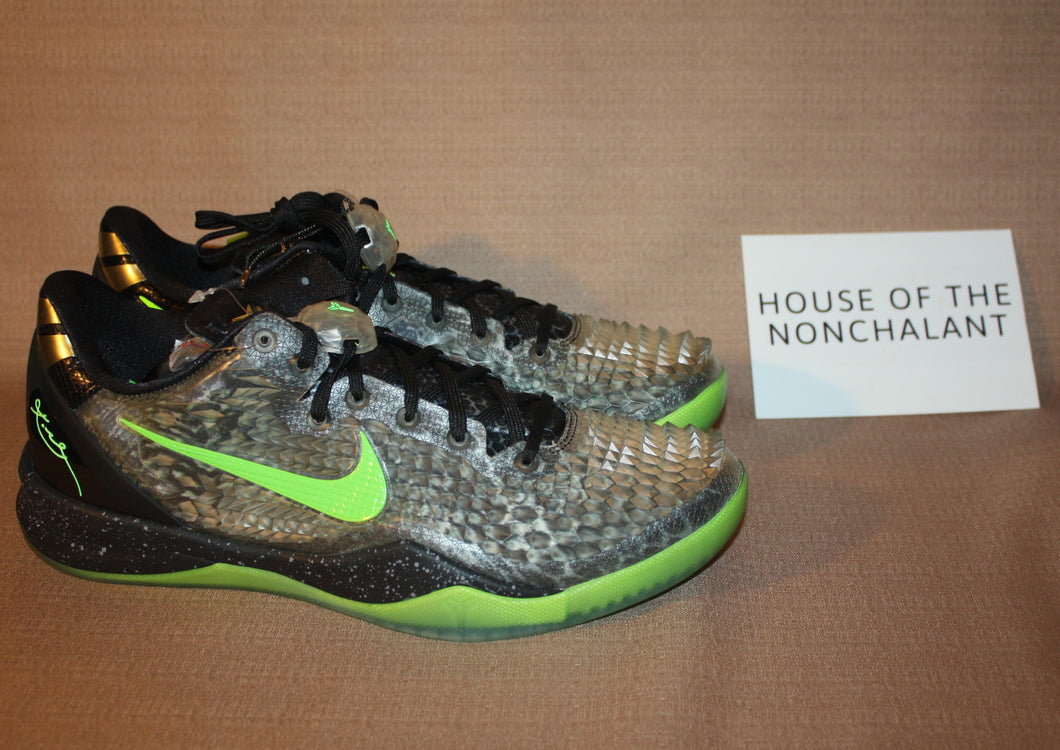 cf6a19addf82 2013 Nike Kobe 8 System SS  Christmas  Green – house of the nonchalant