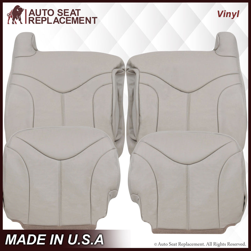 2000-2002 GMC Yukon XL Seat Cover in Shale Tan: Choose From Variation