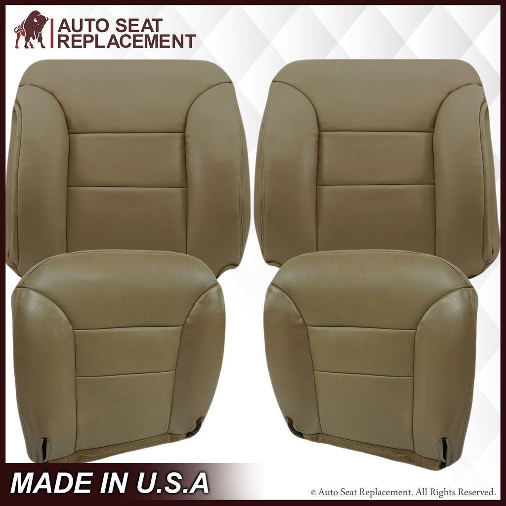 1995-1999 Chevy Tahoe Suburban Silverado Seat Cover in Tan: Choose your options