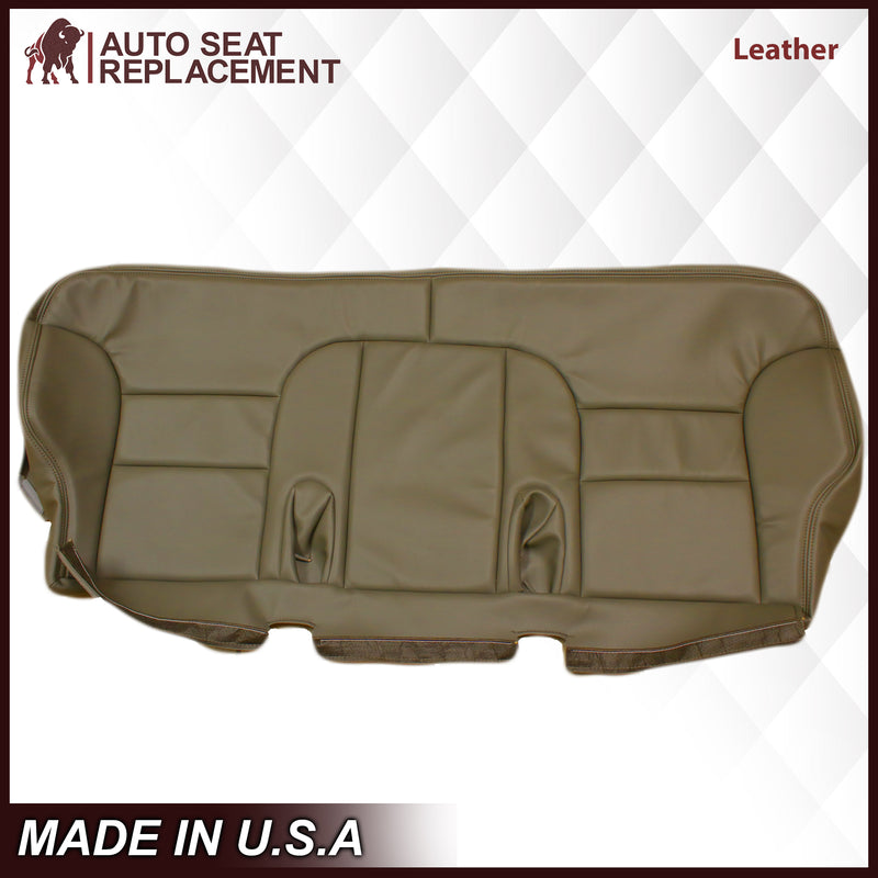 1995-1999 GMC Sierra SLT SLE 2nd Row Bench Seat Cover in Tan: Choose your options