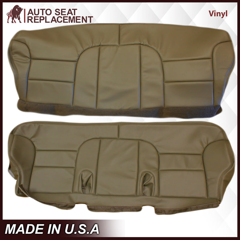 1995-1999 GMC Yukon Suburban SLT SLE 2nd Row Bench Seat Cover in Tan: Choose your options