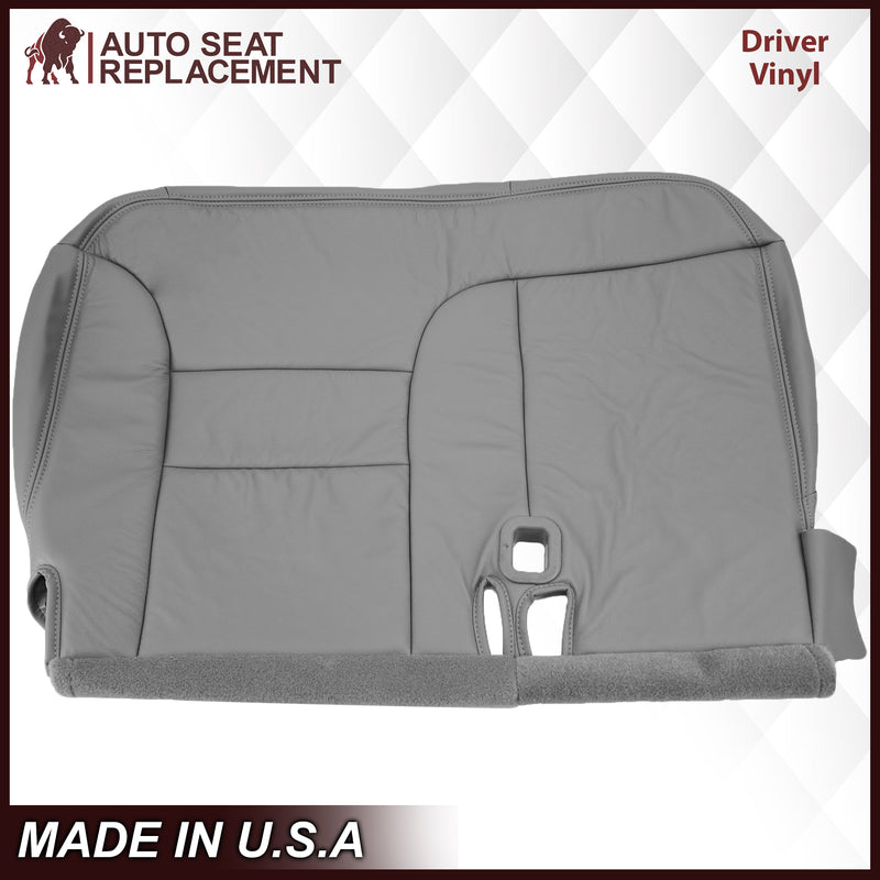 1995-1999 GMC Yukon/Sierra Seat Cover in Gray (60/40 Bench Bottoms): Choose your options