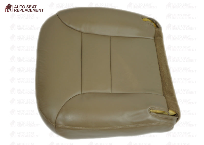 1995 1996 Chevrolet Tahoe Suburban Driver or Passenger Bottom Seat Cover Neutral Tan - Auto Seat Replacement