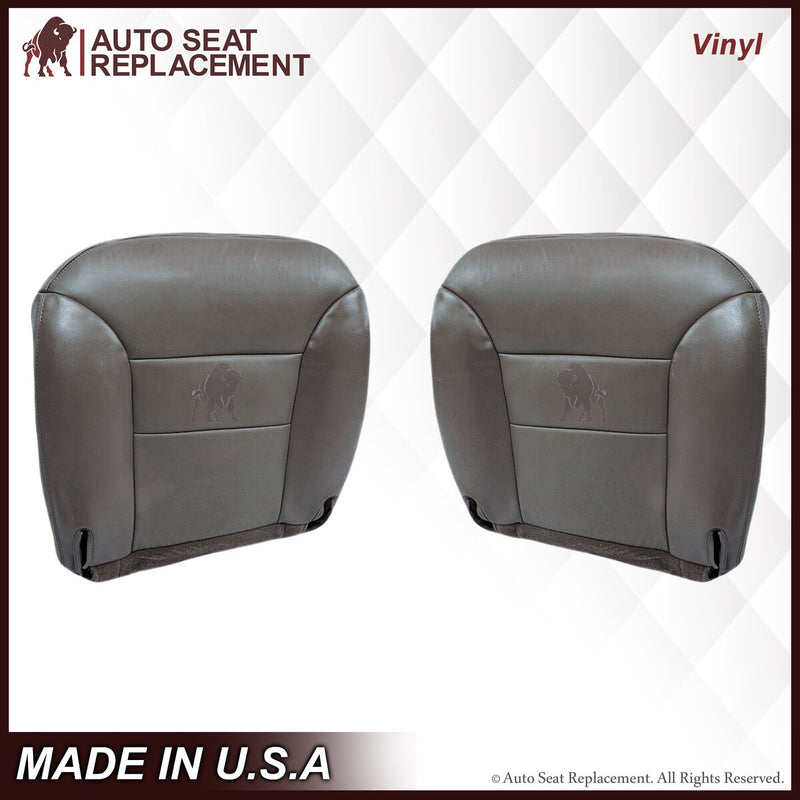 1995-1999  GMC Sierra SLT SLE Seat Cover in Gray: Choose your options