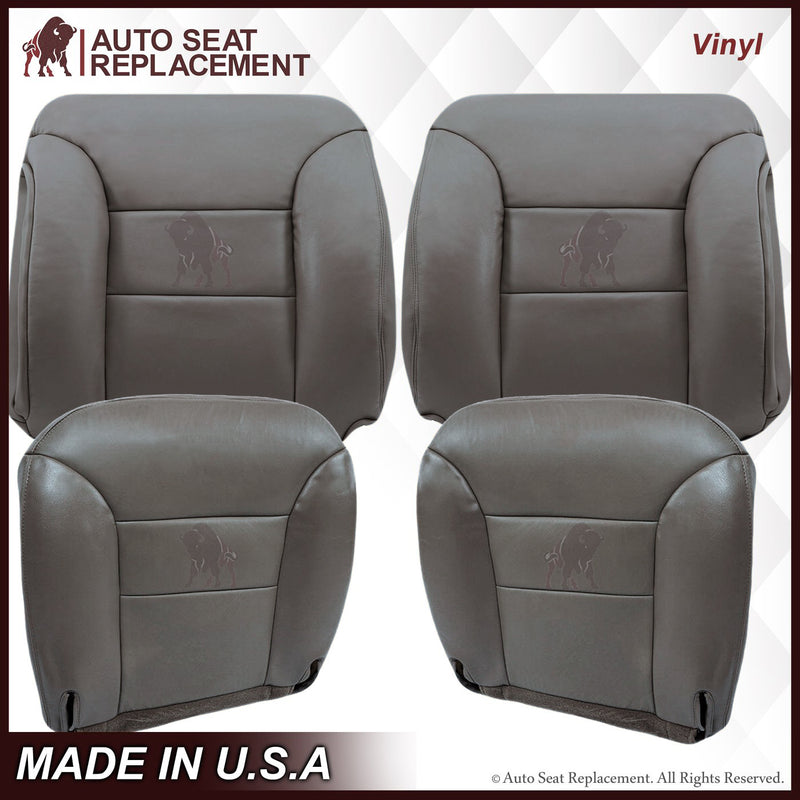 1995-1999 Chevy Tahoe Suburban Silverado Seat Cover in Gray: Choose your options