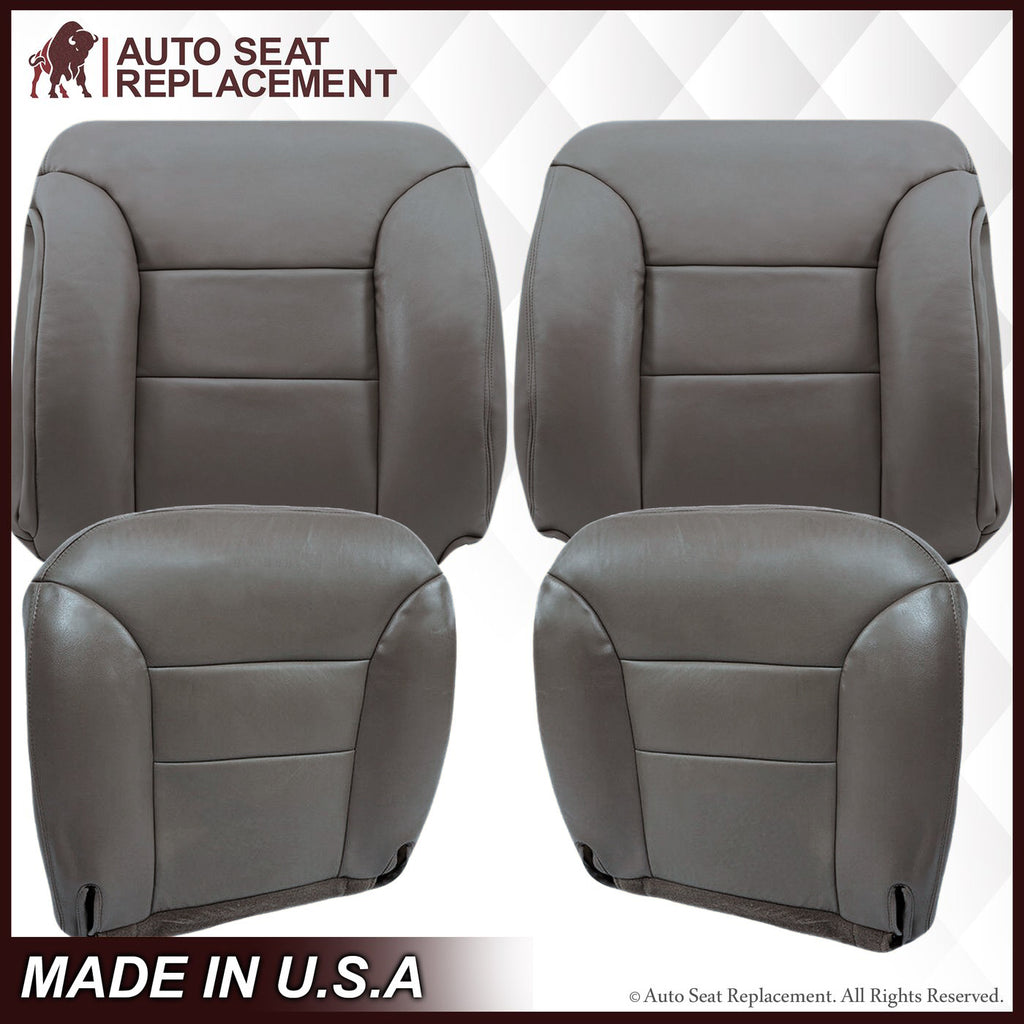 1995-1999  GMC Yukon Suburban SLT SLE Seat Cover in Gray: Choose your options