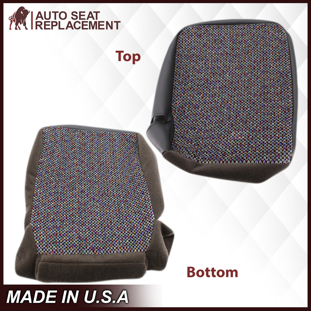1998-2001 Dodge Ram 1500 SLT Laramie Baby Seat Cover in Agate Dark Gray Cloth: Choose From Variation