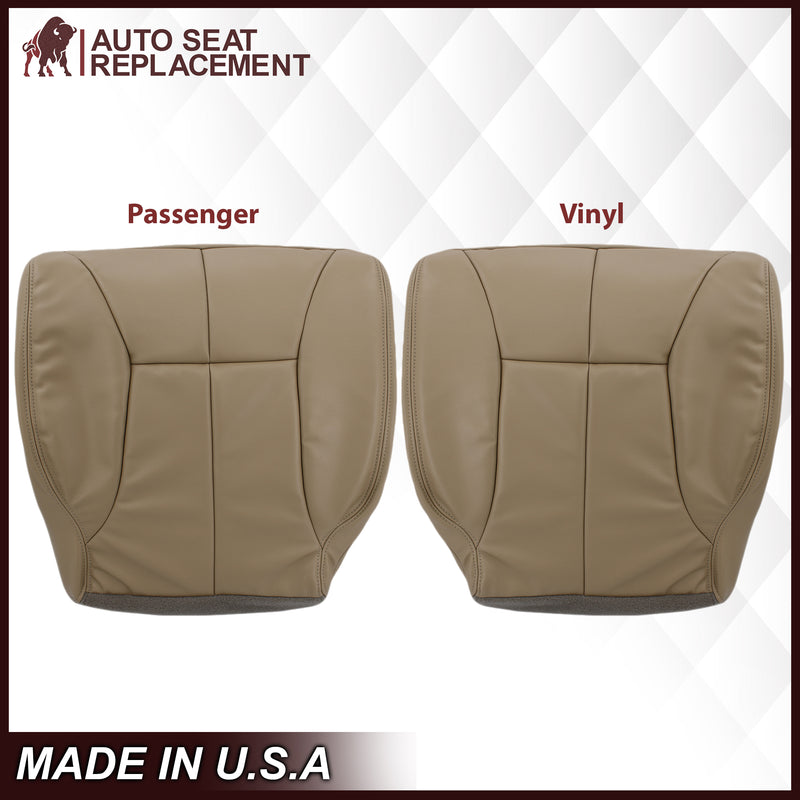 1998-2002 Dodge Ram 1500 2500 3500 (Backrest Without Logo) in Tan: Choose From Variation