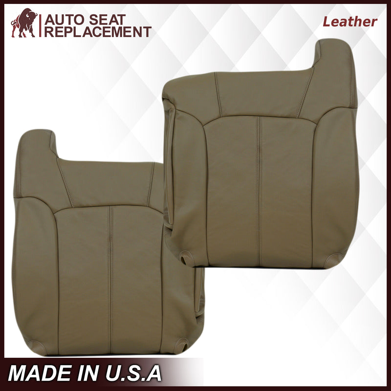 1999-2002 GMC Sierra Seat Cover in Tan: Choose From Variations