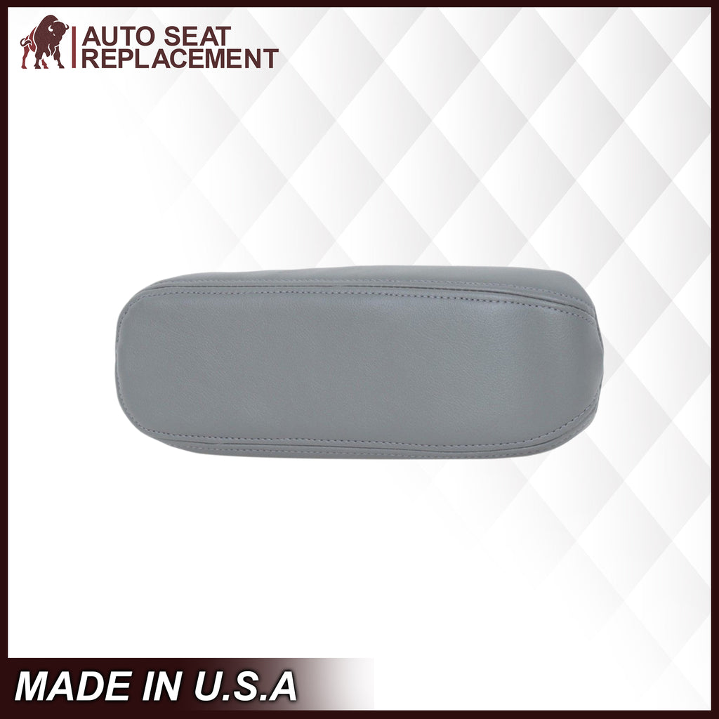 2002-2007 Ford F-250 F-350 Driver Or Passenger Armrest Cover in Flint Gray