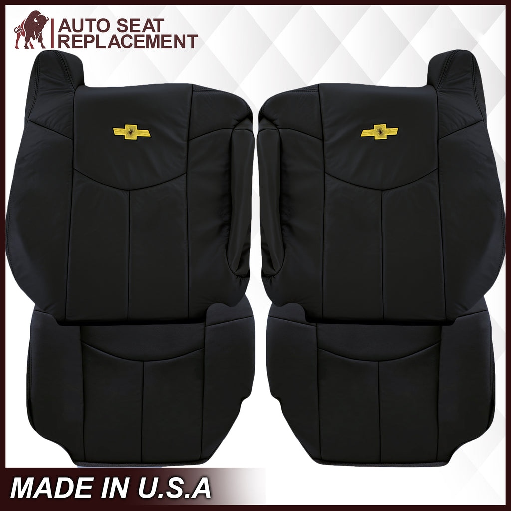 "2002 Chevy Avalanche Seat Cover in Dark Graphite ""Dark Gray"": Choose From Variations"