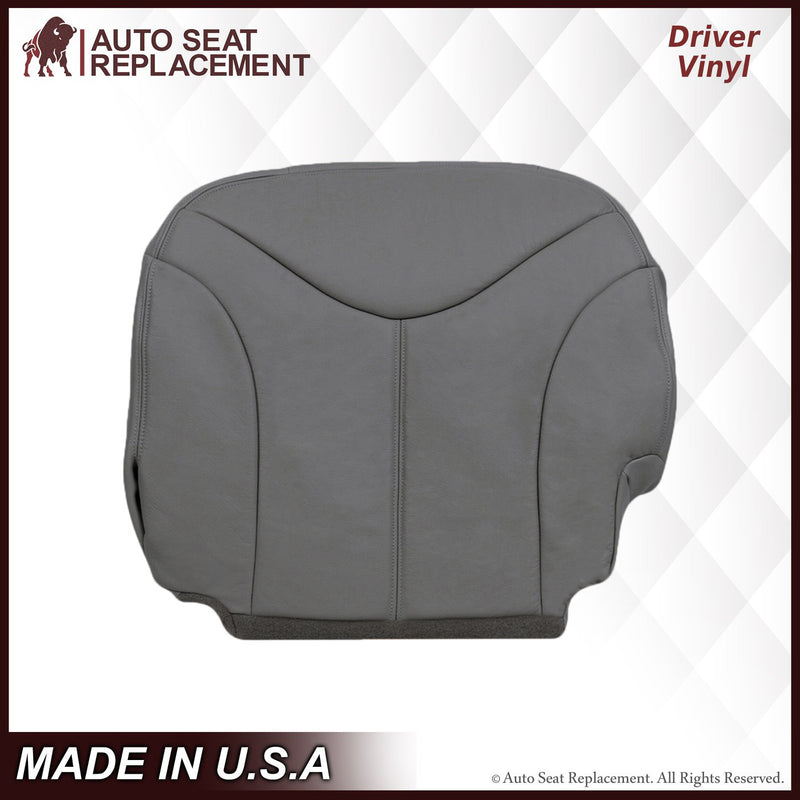 2000-2002 GMC Yukon XL Seat Cover in Pewter Gray: Choose From Variation