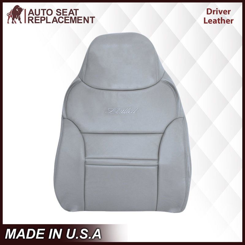 2000-2001 Ford Excursion Seat Cover in Gray: Choose From Variation