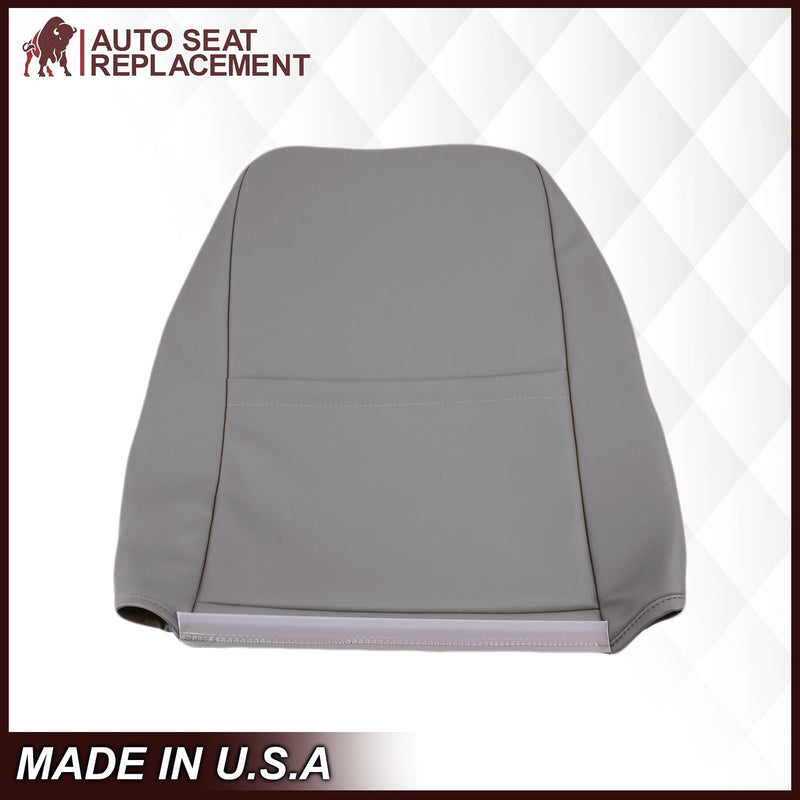 1999-2004 Ford Mustang GT Convertible in Medium Graphite Gray Perforated Seat cover: Choose From Variationt
