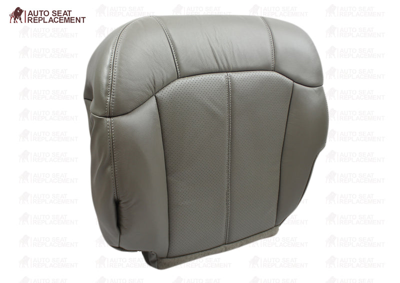 2002 Cadillac Escalade Perforated Seat Cover in Gray: Choose From Variations