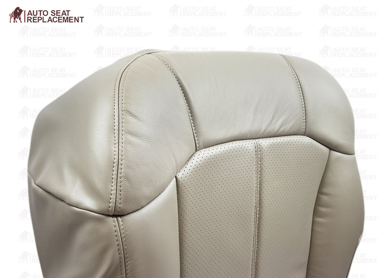 2002 Cadillac Escalade Perforated Seat Cover in Tan: Choose From Variations