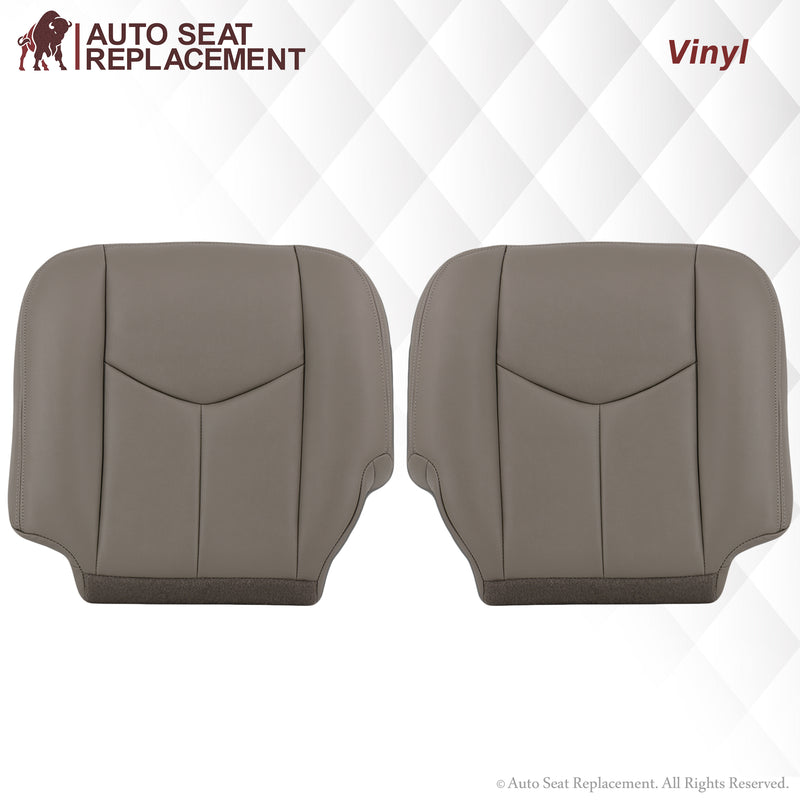 2003-2007 Chevy Tahoe/Suburban Seat Cover in Light Gray: Choose From Variations