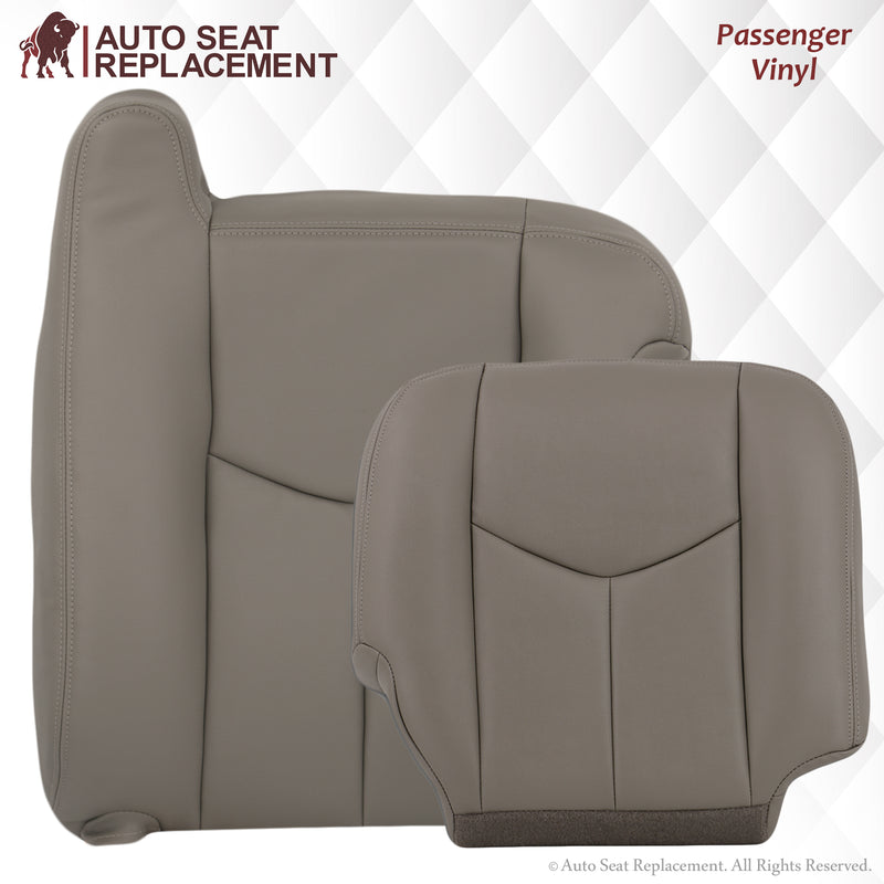 2003-2007 GMC Sierra Seat Cover In Light Gray: Choose From Variation
