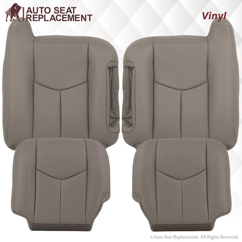 2003-2007 Chevy Silverado/Avalanche Seat Cover In Light Gray: Choose From Variation