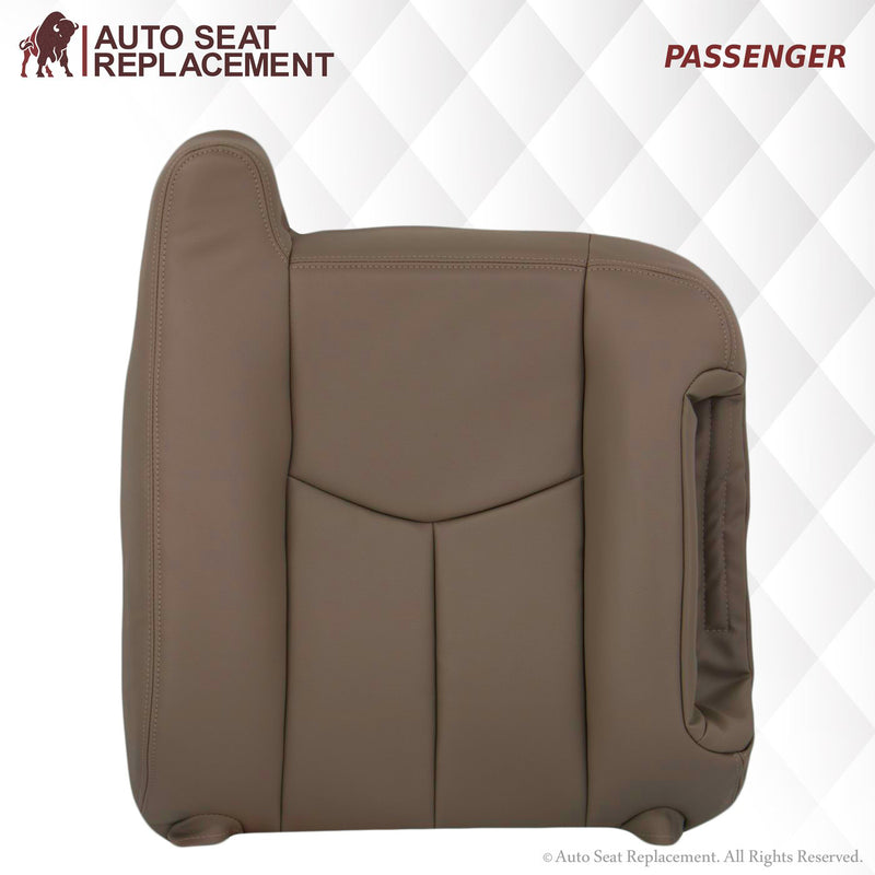 2003-2007 Chevy Silverado/Avalanche Seat Cover in Tan: Choose Leather or Vinyl