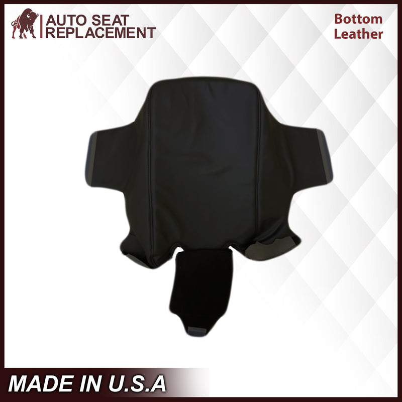 2003-2007 Chevy Silverado/Avalanche & GMC Sierra work Truck Middle Baby Seat Cover in Dark Gray 40/20/40: Choose Leather or Vinyl
