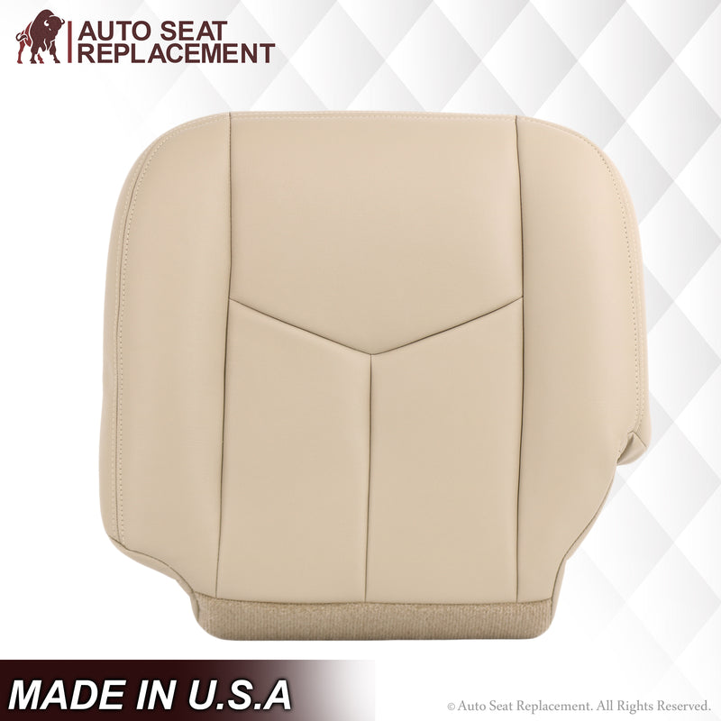 2003 2004 2005 2006 2007 Chevy Suburban Tahoe Driver Bottom Leather OEM  seat covers replacement Auto Seat Replacement 1500 2500  LT LS