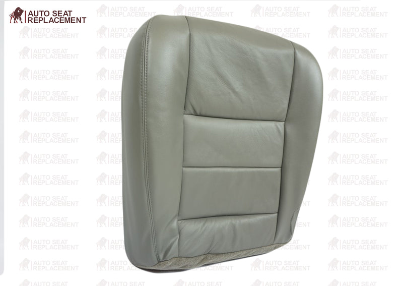 2002 2003 2004 2005 Ford Excursion Limited LE Leather Seat Cover Replacement Flint Gray