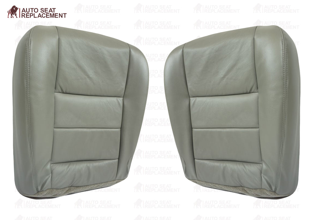 2002-2005 Ford Excursion Limited Seat Cover in Flint Gray: Choose From Variations