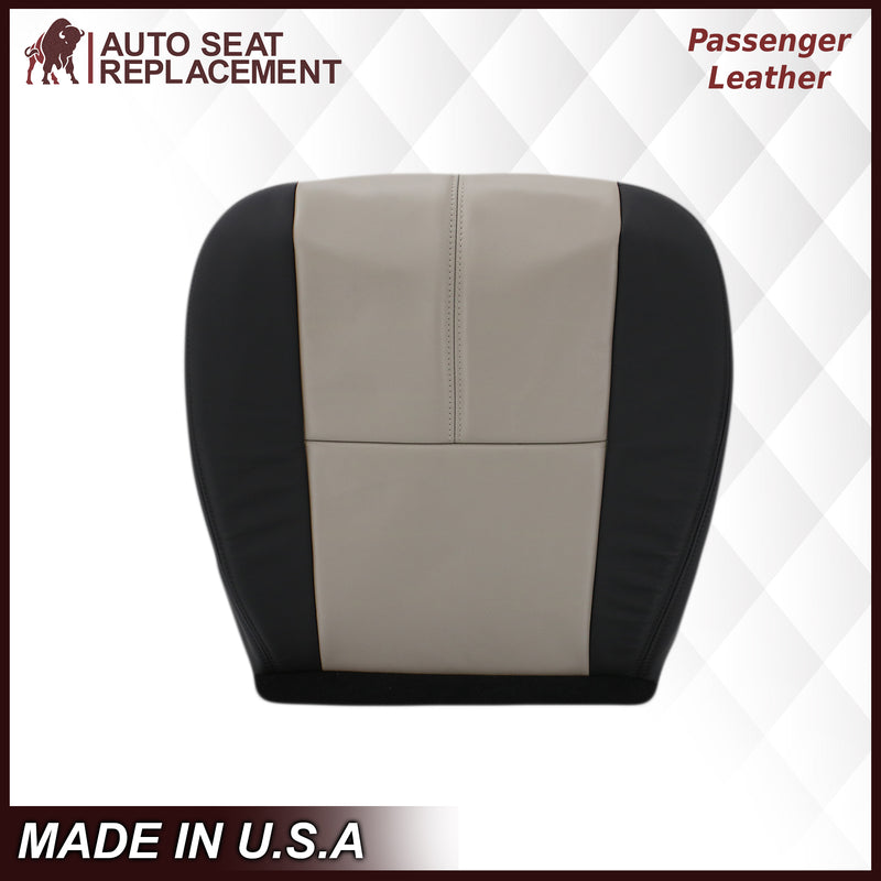 2007 2008 2009 2010 2011 2012 2013 2014 Chevy Silverado Suburban Tahoe Driver Passenger Bottom Top Leather OEM replacement seat cover replacement Auto Seat Replacement